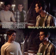 Scott & Stiles - Season 3 - Teen Wolf. ♥