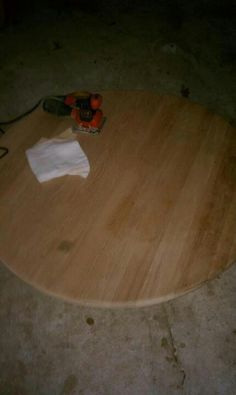 Table before pic.