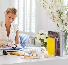 Gwyneth's desk.