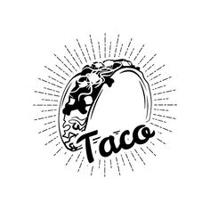 Download taco shell drawing - Google Search | Mexican Food Truck ...