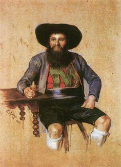 Franz von Defregger (1835-1921) - Andreas Hofer