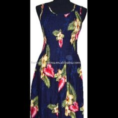 Hawaiian Maxi Dress Gorgeous Hawaiian dress in black with white, blue, green and lavender flowers. One size fits all. Light and airy. 100% rayon. Maxi length. First pic for style inspiration but not mine Bali Chic Dresses Maxi