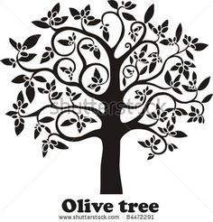 Find Olive Tree Full Black Olives Isolated stock images in HD and millions of other royalty-free stock photos, illustrations and vectors in the Shutterstock collection. Tree Of Life Artwork, Tree Art, Nature Drawing, Wall Drawing, Olive Tree Tattoos, Olive Tattoo, Palm Tree Tattoo Ankle, Tree Sketches, Tree Graphic