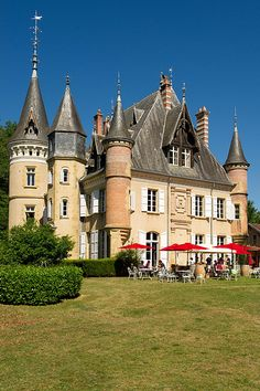 Château Le Haget, Route de Mielan, 32320 Montesquiou, France, one of the loveliest chateaux in the Gers..