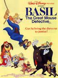 The Great Mouse Detective movie poster -