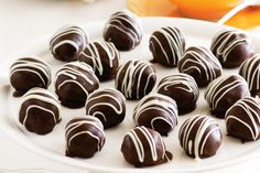 Easy to make and Amazingly DelectableTurkish Delight Christmas Truffles - nice idea for a gift.