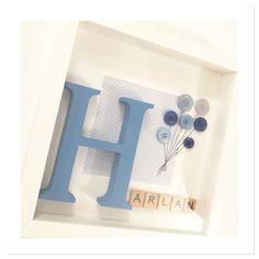 60 Ideas Baby Geschenk Geburt Rahmen - Everything For Babies Box Frame Art, Box Frames, Diy Baby Gifts, Baby Crafts, Baby Frame, Baby Box Frame Ideas, Boys Room Design, Scrabble Art, Diy Crib