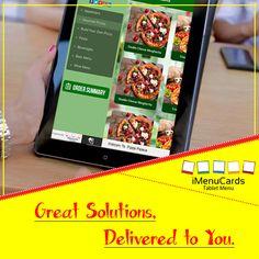 Still Using Paper Menu? It's Time to Adopt Tablet Menu Solutions! Know more here: www.imenucards.com  #tabletmenu #imenu #digitalmenu #restaurant