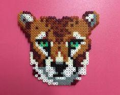 Cheetah - Hama Perlen