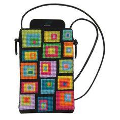 colourful cobblestone Cross Stitch Embroidery, Cross Stitch Patterns, Bargello Patterns, Needlepoint Patterns, Knitting Patterns Boys, Pixel Crochet, Punch Needle Patterns, Mc Escher, Needlepoint Canvases