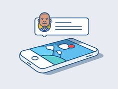 >>>Cheap Sale OFF! >>>Visit>> Notifications - Illustration Animation by Andrew McKay - Dribbble Flat Design Illustration, Family Illustration, Graphic Illustration, Web Design, Icon Design, Graphic Design, Anim Gif, Animated Gif, Kinetic Type