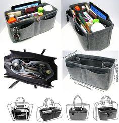 Magic Purser Bag in Bag Purse Organizer, Felt Purse Organizer, bag insert