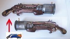 steampunk rifle from nerf gun