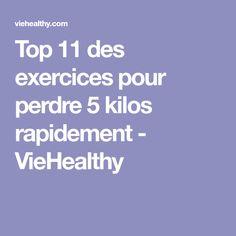 Top 11 des exercices pour perdre 5 kilos rapidement - VieHealthy