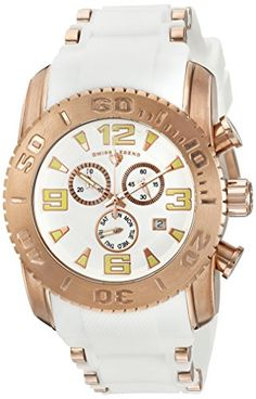 Men's Wrist Watches - Swiss Legend Mens Commander Pro Swiss Quartz Stainless Steel Casual Watch Model * Check out this great product. Casual Watches, Cool Watches, Wrist Watches, Watch Model, Stainless Steel Case, Michael Kors Watch, Chronograph, Quartz, Image Link