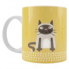 Scandi Cat Mug