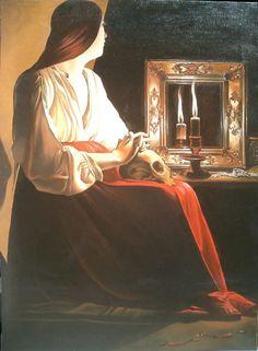 Geroges de la Tour, La Maddalena Wrightsman, XVI sec.