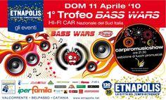 1° Trofeo BASS WARS. HI-FI CAR Nazionale del Sud Italia.