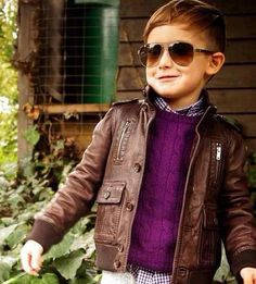 Who is this kid?!  He is so fashionable!!!!