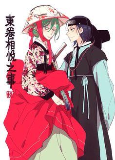Toudou Jinpachi x Makishima Yuusuke