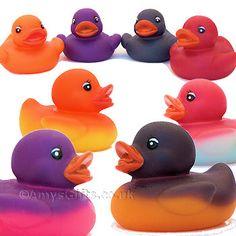 colour changing rubber ducks