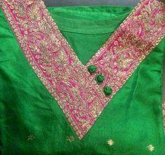 Radhu's pretty silk kurta