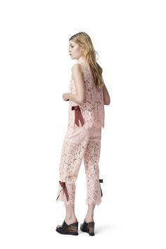 Duval Lace Top, Cloud Pink