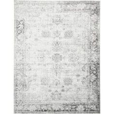 Unique Loom Sofia Casino Beige 0 x 0 Area Rug 3134038 - The Home Depot Grey Rugs, Beige Area Rugs, Black Rugs, Nespresso, Bougie Yankee Candle, Floral Area Rugs, Rugs Online, White Area Rug, White Rug