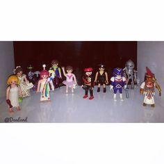 50 anos de @playmobil no mundo. Uma foto da minha pequena coleção. #DexToys #Playmobil