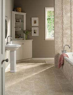 Decorative Tiles For Bathroom Tile That Looks Like Travertine  Daltile12X24 Stacked