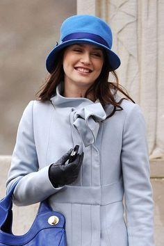 Blair Waldorf in Blue.