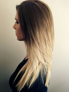 Long Hair Trend Cute Ombre Hair Color