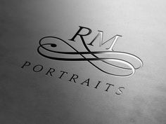 RM Portraits - A lettermark logo I did for an australian photography studio a while back.