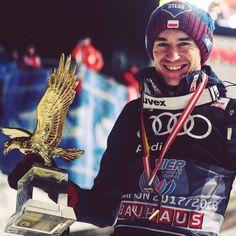 "Polubienia: 41, komentarze: 1 – PATRYK STĘPIEŃ (@fristajlos) na Instagramie: ""Ukłony MISTRZU. Legenda #skijumping"" Ski Jumping, Ultimate Collection, Olympians, Dream Big, Skiing, Netflix, Jumper, Happiness, Sporty"