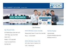 Epic research weekly equity report of 25 may 2015 by Epic Research Private Limited via slideshare
