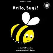 Say Hello to Hello, Bugs! | The Baby Book Nook - Baby girl loves the metallic colors on each page.