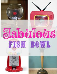 Fish are fascinating to watch and these unique bowls make them extra special! | #Ad
