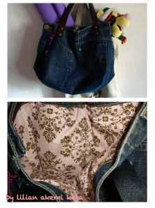 DIY: Recycling Old Jeans