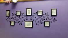 Create a #photowall with an #uppercaseliving #vinyl #branch.  #ultorreh #ulfamilybranch