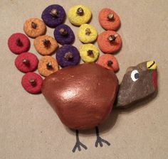This Nature's Best Turkey Puzzle is one of the coolest nature crafts that your kids can do because they will get to go outside and explore for materials that they'll use to make into a homemade game. | AllFreeKidsCrafts.com