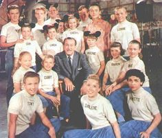 Mouseketeers - Talented troupe of youngsters chosen by Walt Disney to star on THE MICKEY MOUSE CLUB/ABC/1955-59, a variety series with cartoons, music, and live-action adventures (for example, SPIN & MARTY or THE HARDY BOYS).