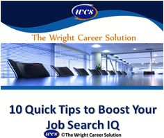 Tips to boost your job search IQ