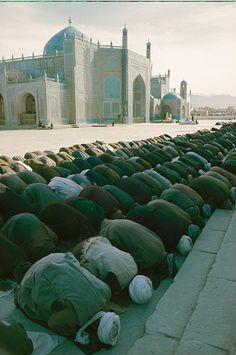 Muslims Praying In Afghanistan is a by Thomas J. Abercrombie which was uploaded on October 2011 Muslim Pray, Islam Muslim, Places Around The World, Around The Worlds, Pakistan, La Ilaha Illallah, Islamic Prayer, Islamic Quotes, Beautiful Mosques