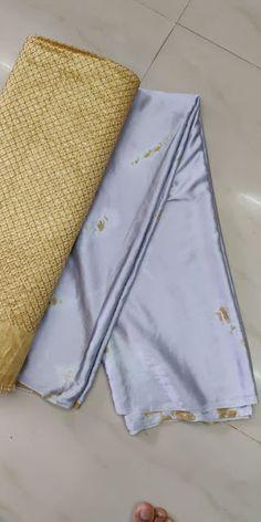 Satin Shibori Sarees With Blouse - ElegantFahionWear Elegant Fashion Wear, Trendy Fashion, Shibori Sarees, Blouse Designs, Cool Style, Khaki Pants, Price Tags, Satin, Designers