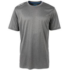 Bauer Team Tech Poly Sr. Short Sleeve Tee Shirt