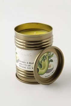 smells like spring: avocado and mint