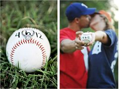 baseball engagement shoot...this whole session is so cute! I'm so doing this!