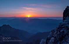 """Sunrise in Mount Huangshan Go to http://iBoatCity.com and use code PINTEREST for free shipping on your first order! (Lower 48 USA Only). Sign up for our email newsletter to get your free guide: """"Boat Buyer's Guide for Beginners."""""""