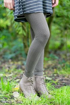 "These ultra-soft and warm leggings will become your most important wardrobe staple this season! Slip into these versatile, one size, braid patterned leggings to complete all of your looks! Available in:  CharcoalBlack WineBeigeOlive Navy Forest Coffee FuchsiaPlumMintWhiteThese are one size, and can fit sizes 0-12 comfortably. Inseam measures approximately 25"" unstretched, and can stretch comfortably to about 33"". Polyester/spandex blend"