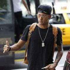 "sashapique: """"Neymar in New Jersey "" "" Neymar Jr, Neymar Football, Football Players, Best Player, Fc Barcelona, Instagram, Casual, Mens Tops, Football Stuff"